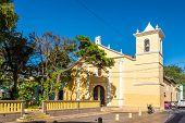 View At The Church Of San Francisco In Tegucigalpa, Honduras poster