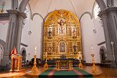 Golden Altar Mission Basilica San Juan Capistrano Church California