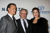 LOS ANGELES, CA - JAN 27: Tom Hanks, Steven Spielberg, & Rita WIlson at the