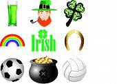 image of guinness  - Vector Illustration for Ireland - JPG