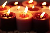 Candle group -backgrounds