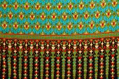 Traditional Thai Style Native Fabric Weave