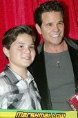 UNIVERSAL CITY - DEC. 4: Zach Callison and Ed Callison arrives at publicist Mike Arnoldi's birthday
