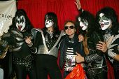 UNIVERSAL CITY - DEC. 4: G. Tom Mac & Kiss My Ass band arrive at publicist Mike Arnoldi's birthday c