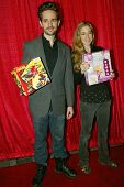 UNIVERSAL CITY - DEC. 4: David Lautman & Lisa Lautman arrive at publicist Mike Arnoldi's birthday ce