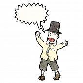 homem de Cartum vagabundo gritando