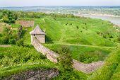 Curtain Wall At Khotyn Fortress, Ukraine