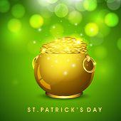 St. Patrick's Day background. EPS 10.