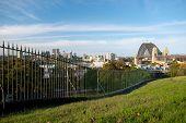 North Sydney And Harbour Bridge