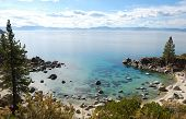 Crystal Clear Water Bay On Lake Tahoe