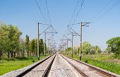 Double-track Electrified (25 Kv, 50 Hz) Railway Line