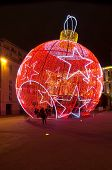 Nice Decorated For Christmas, France
