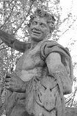 Estátua de Centauro em Pavlovsk