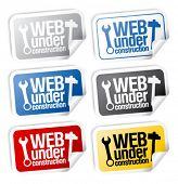 Web under construction stickers mega pack.