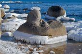 Stones With Ice