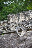 Mayan Stone Ballcourt Goal