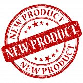 New Product Red Stamp
