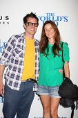 LOS ANGELES - AUG 21:  Johnny Knoxville, Naomi Nelson at