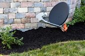 Satellite Dish Ground Mount