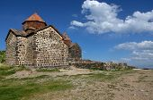 Monastic complex Sevanavank. Sevan lake. Armenia