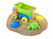 Toys On The Beach
