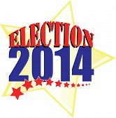 Election 2014 with gold star
