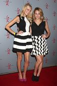 LOS ANGELES - AUG 24:  Melissa Ordway, Hunter King at the Young & Restless Fan Club Dinner at the Universal Sheraton Hotel on August 24, 2013 in Los Angeles, CA
