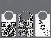 Qr Coded Label Set