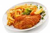 stock photo of pork cutlet  - Pork chop - JPG