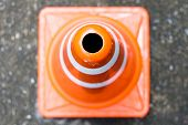 Traffic Cone - Overhead view