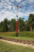 Semaphore on Pereslavl rail
