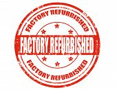 Factory Refurbished-stamp