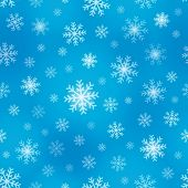 Seamless background snowflakes 1 - eps10 vector illustration.