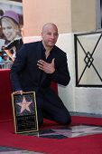 LOS ANGELES - AUG 26:  Vin Diesel at the Vin DIesel Walk of Fame Star Ceremony at the Roosevelt Hote