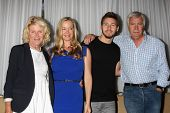 LOS ANGELES - AUG 24:  Alley Mills, Jennifer Gareis, Scott Clifton, John McCook at the Bold n Beauti