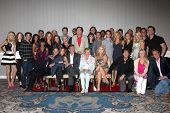 LOS ANGELES - AUG 24:  Young and the Restless Cast, Lee Bell at the Young & Restless Fan Club Dinner