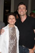 LOS ANGELES - AUG 24:  Daniel Goddard, Mom at the Young & Restless Fan Club Dinner at the Universal