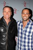 LOS ANGELES - AUG 24:  Sean Carrigan, Marco Dapper at the Young & Restless Fan Club Dinner at the Un