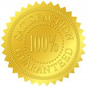 Satisfaction Guaranteed Gold Seal