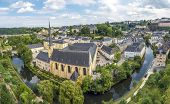 Abbey De Neumunster In Luxembourg City