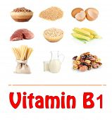 Products which contain vitamin B1