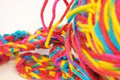 Multi Coloured Yarn