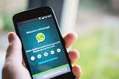 WhatsApp on android phone