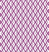 foto of quirk  - Pattern from violet curls on white background - JPG