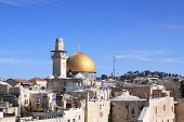 foto of aqsa  - The Dome of the Rock  - JPG