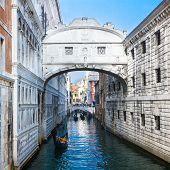 Bridge Of Sighs - Ponte Dei Sospiri. Venice.