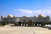Palace With Columns And Domes. Ashkhabad. Turkmenistan.