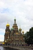 Cathedral Of The Resurrection On Spilled Blood (church Of Our Savior On The Spilled Blood) In St. Pe