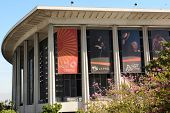 LOS ANGELES, CA - February 17, 2014: The Performing Arts Center of Los Angeles County, is home to th
