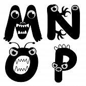 Monster Fonts
